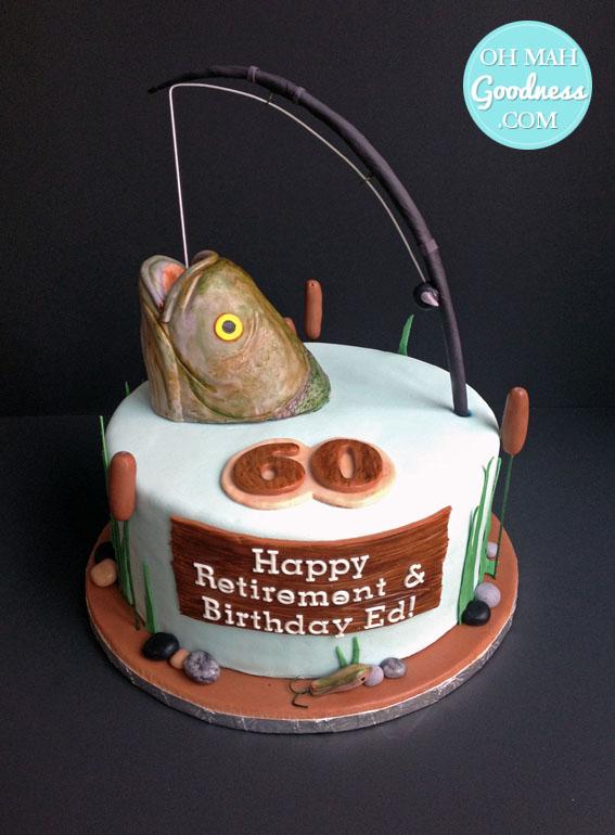 Toronto retirement cake, Toronto custom cake