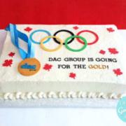 Toronto office party cake, Toronto custom cake