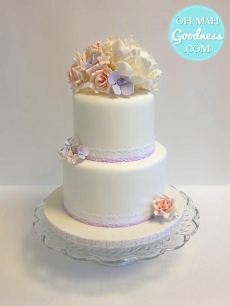 Mini wedding cake: Toronto custom cake, Toronto wedding cake