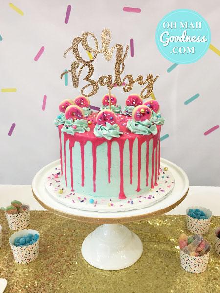 Toronto bridal shower cake, Toronto baby shower cake, Toronto custom cakes