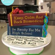 Toronto graduation cake, Toronto custom cake
