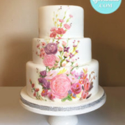 Toronto custom cake, Toronto wedding cake