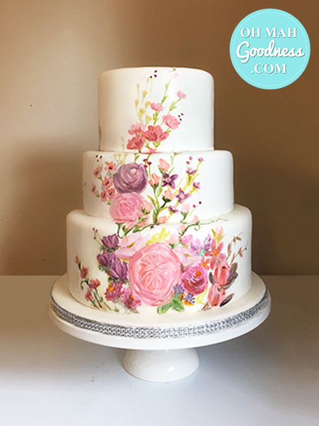 Toronto custom cake, Toronto wedding cake